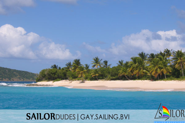 Gay sailing bvi - sandy island