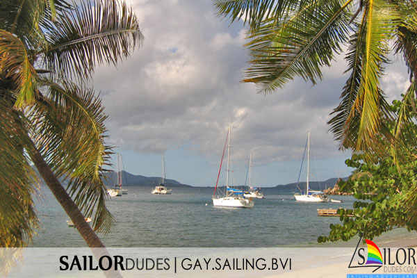 Gay sailing bvi - mooring