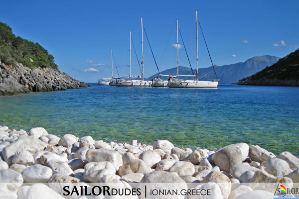 Gay sailing Greece Ionian