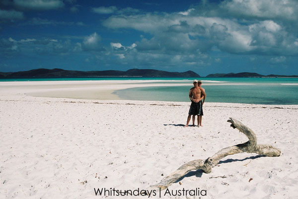 Gay sailing Australia Whitsunday islands