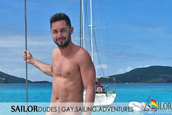 Gay active nude sailing holidays