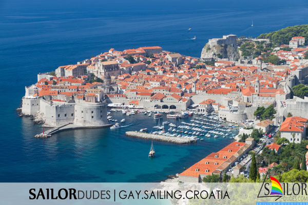 Gay Sailing cruises Croatia - Dubrovnik