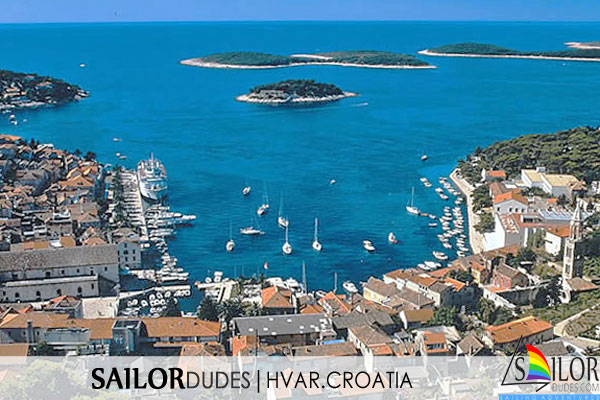 Gay Sailing cruises Croatia - Hvar