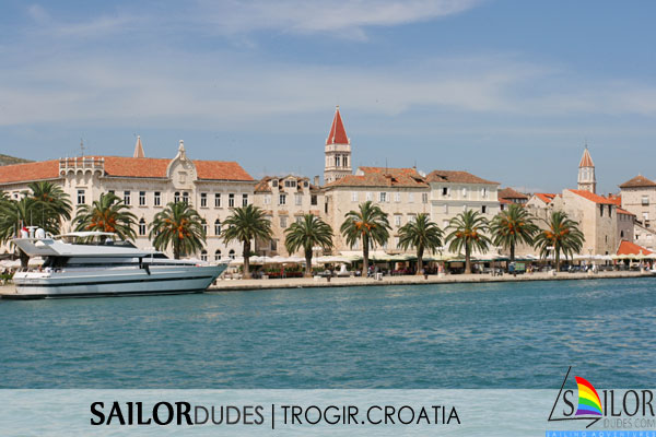Gay Sailing cruises Croatia - Trogir