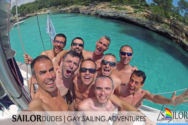 Gay sailing Balearics Mallorca Ibiza Menorca