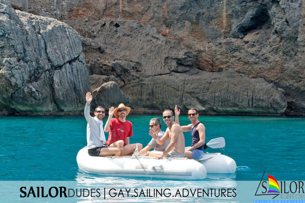 Gay sailing cruises Balearics Ibiza Mallorca