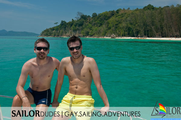 Gay active sailing holiday Thailand