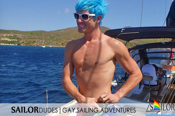 Gay nude clothing optional sailing
