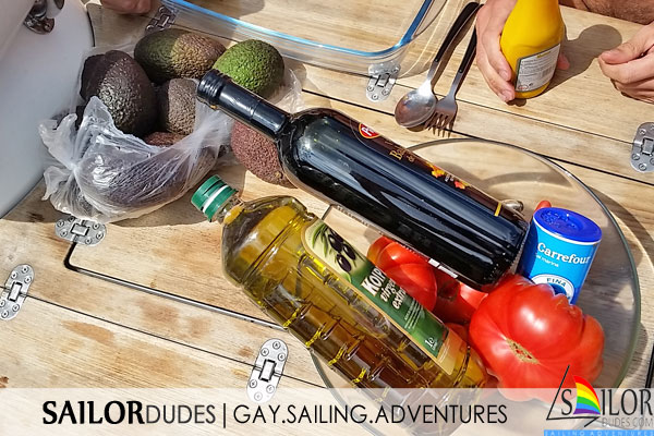 Gay sailing expenses
