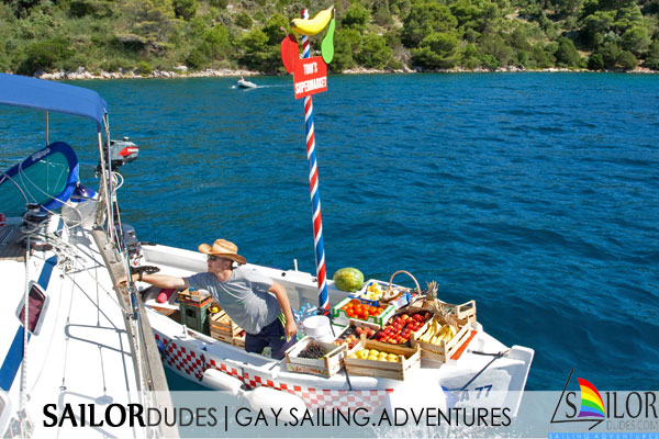 Gay sailing expenses provisioning