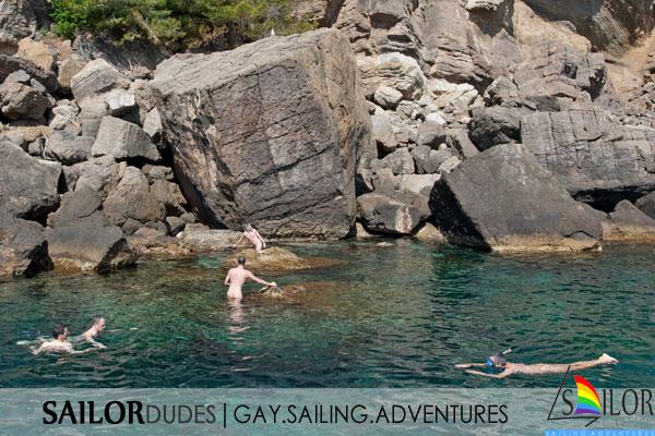 Gay sailing program naked snorkeling