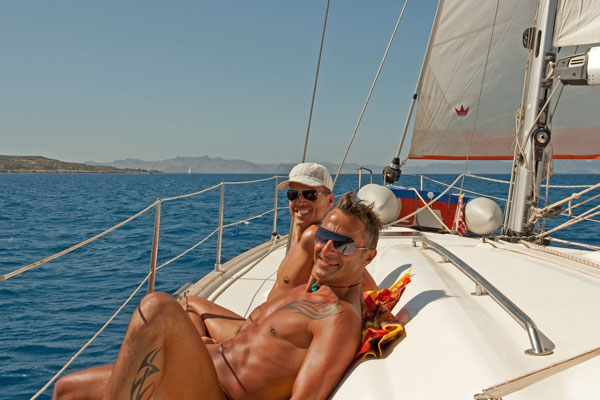 Gay nude sailing program