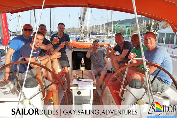 Gay sailing group Kos