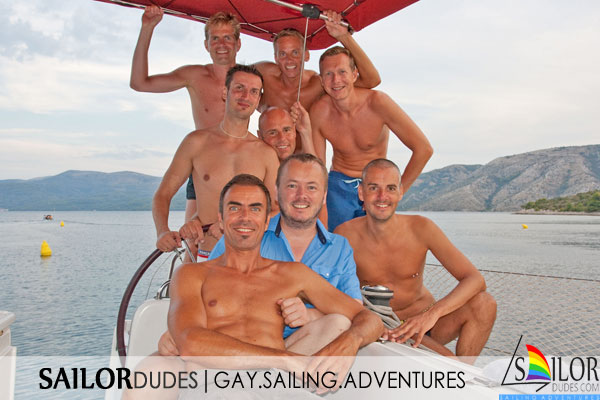 Gay nude sailing group Croatia