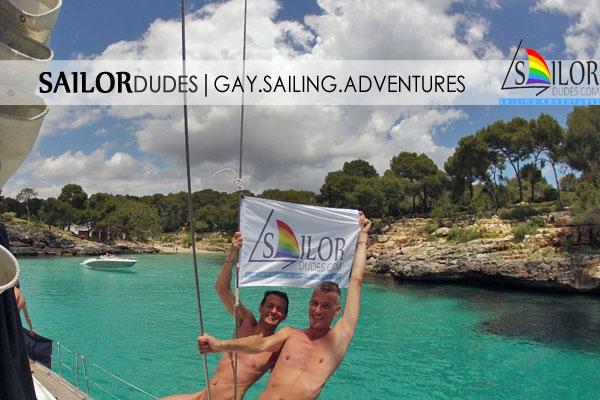 Gay naturist sailing group Mallorca