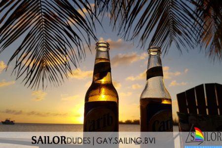 BVI Palm tree beers