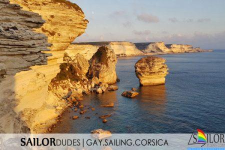 Gay sailing France Corsica