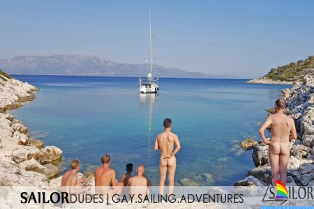 Gay naked sailing Greece Kos