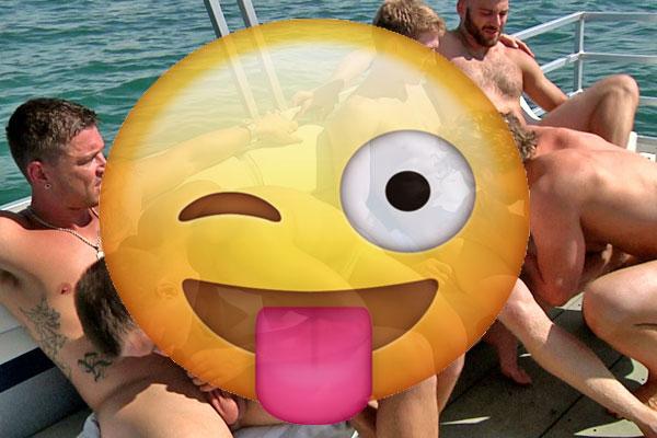 Gay nude sailing Greece Ionian