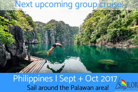 Gay nude sailing cruise Philippines