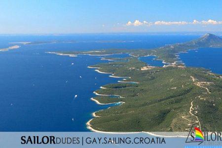 Gay nude sailing cruise Croatia Istria Pula