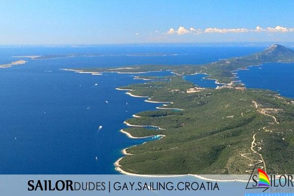 Gay nude sailing cruise Greece Dodecanese Kos