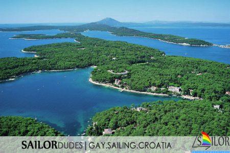 Gay sailing Croatia Istria