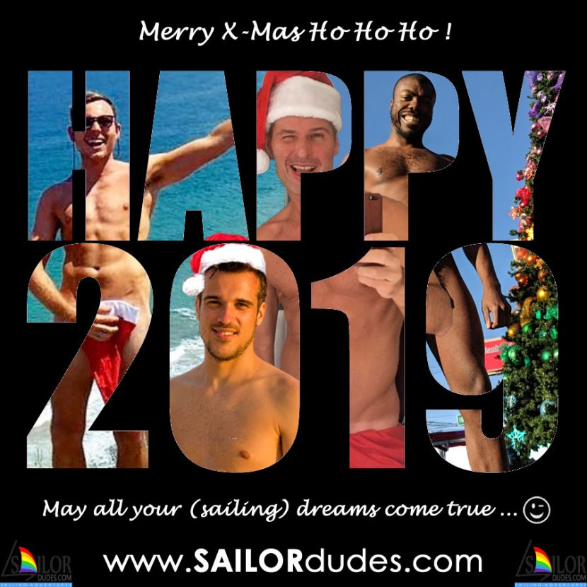 XMas2018 Gay Sailing