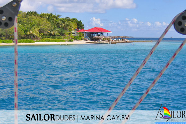 Gay sailing bvi - marina cay