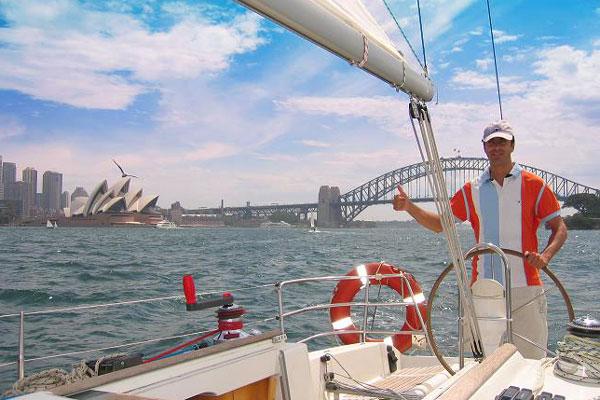 Gay sailing Australia Sydney