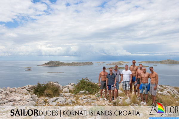 Gay Sailing cruises Croatia - Kornati islands
