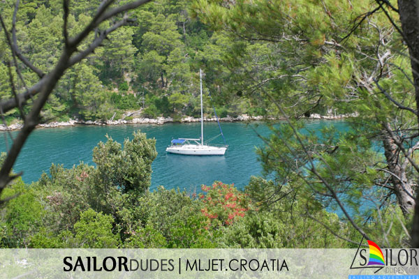 Gay Sailing cruises Croatia - Mljet