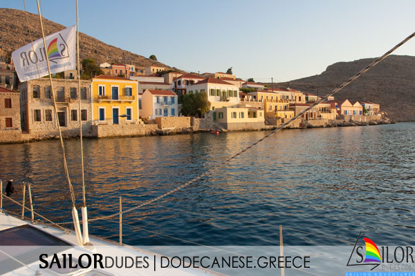 Gay sailing Greece Dodecanese