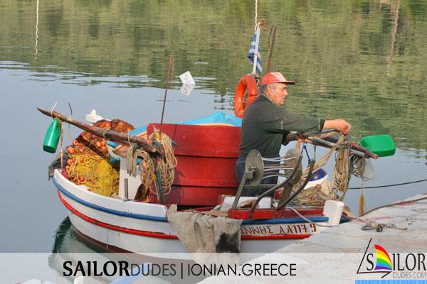 Gay sailing Greece Ionian