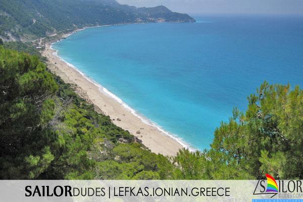 Gay sailing Greece Lefkas