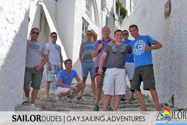 Gay sailing Greece Cyclades
