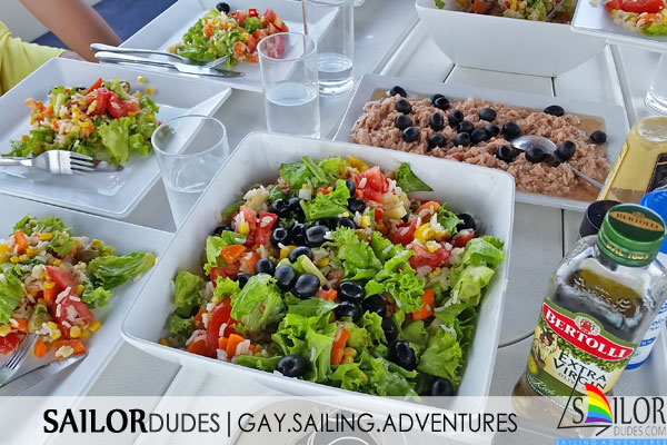 Gay sailing participation lunch