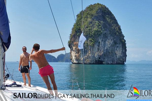 Gay sailing Thailand