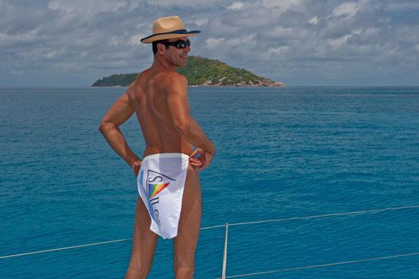 Gay nude clothing optional sailing