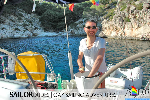 Gay sailing participation dishes