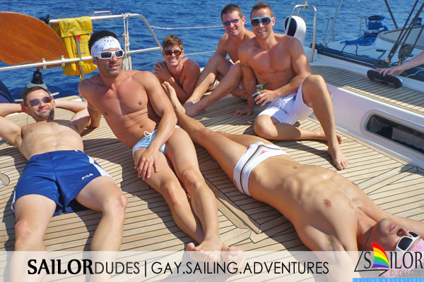Gay sailing Greece Mykonos