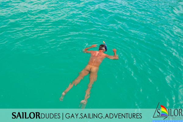 Gay sailing program nude swimming