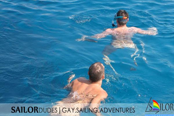 Gay sailing program naturist swimming