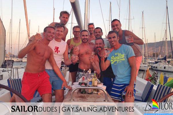 Gay sailing group Kos