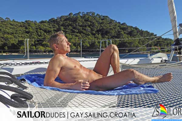 Croatia gay naked sailing catamaran