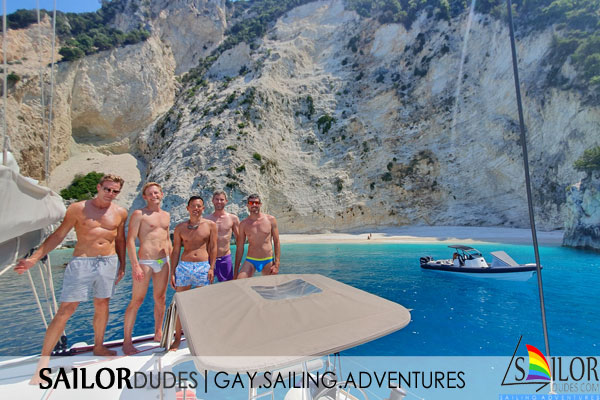 Gay sailing crew