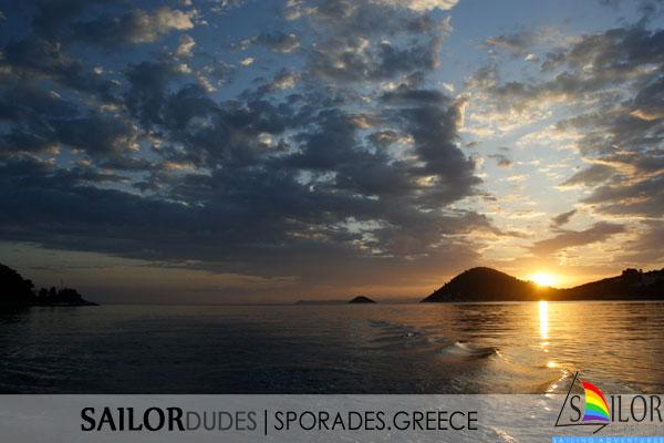 Gay sailing Greece Sporades