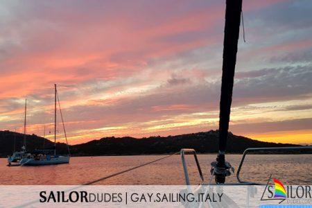 Gay sailing Italy Sardinia