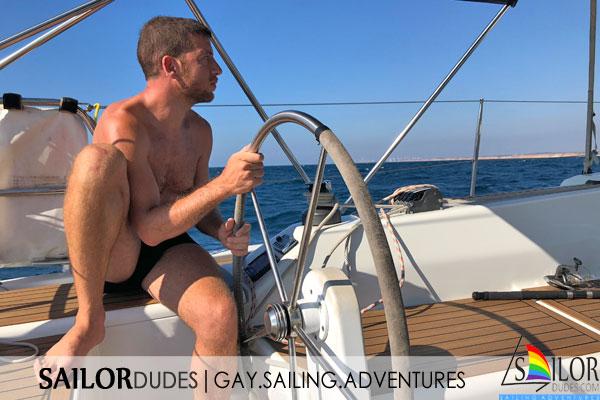 Skipper for gay sailing trip
